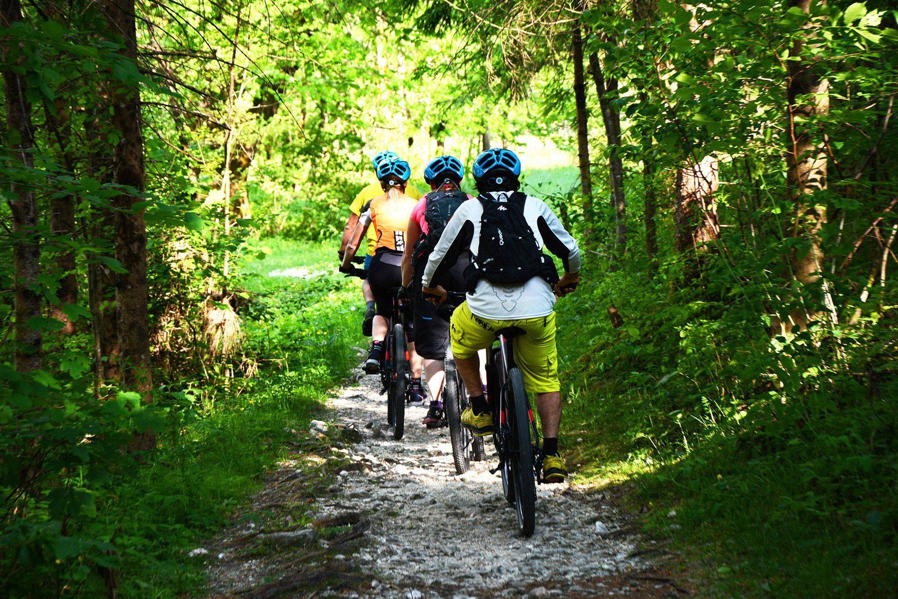 gorsko kolesarjenje alpe kolesa oprema