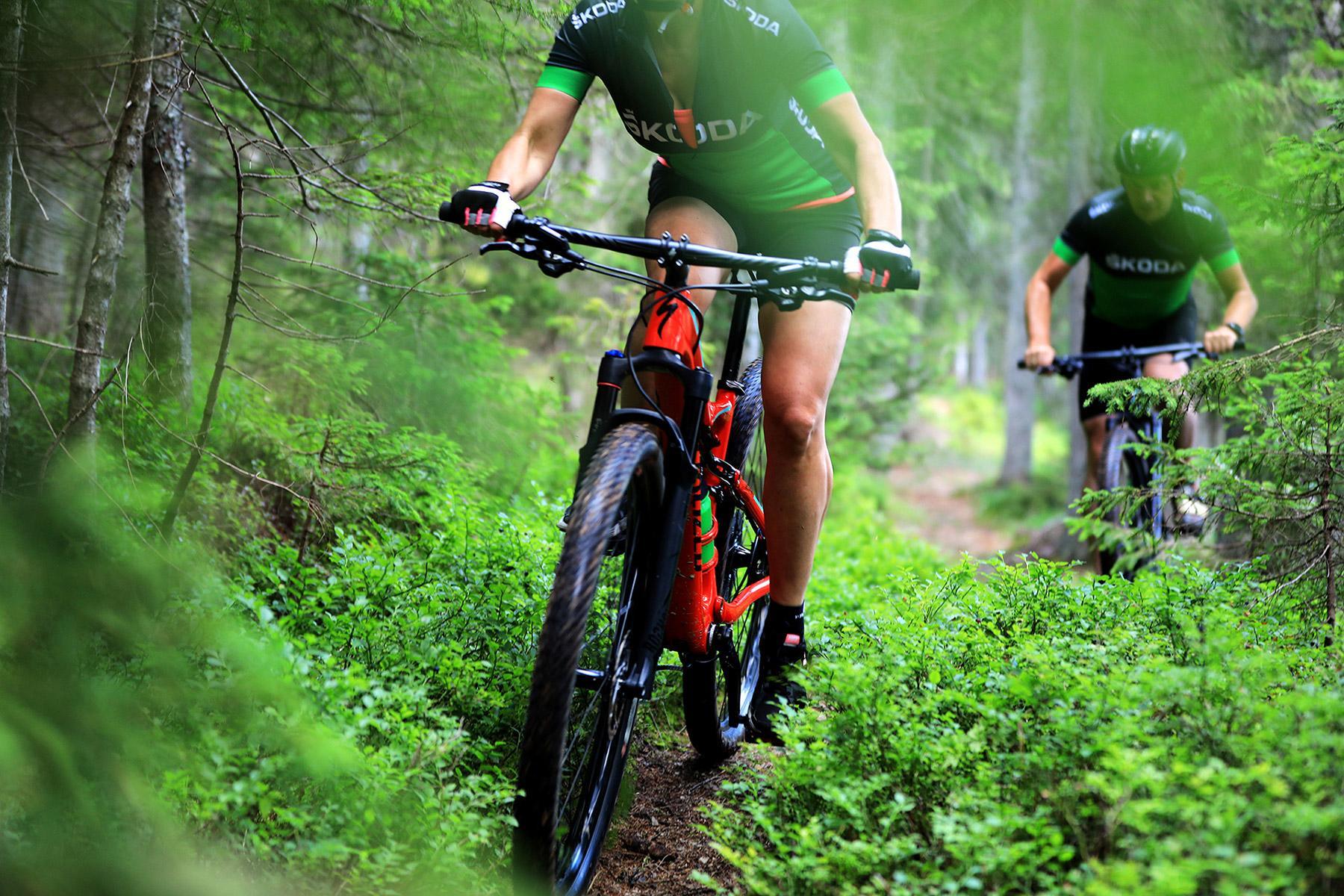 gorska kolesa in oprema