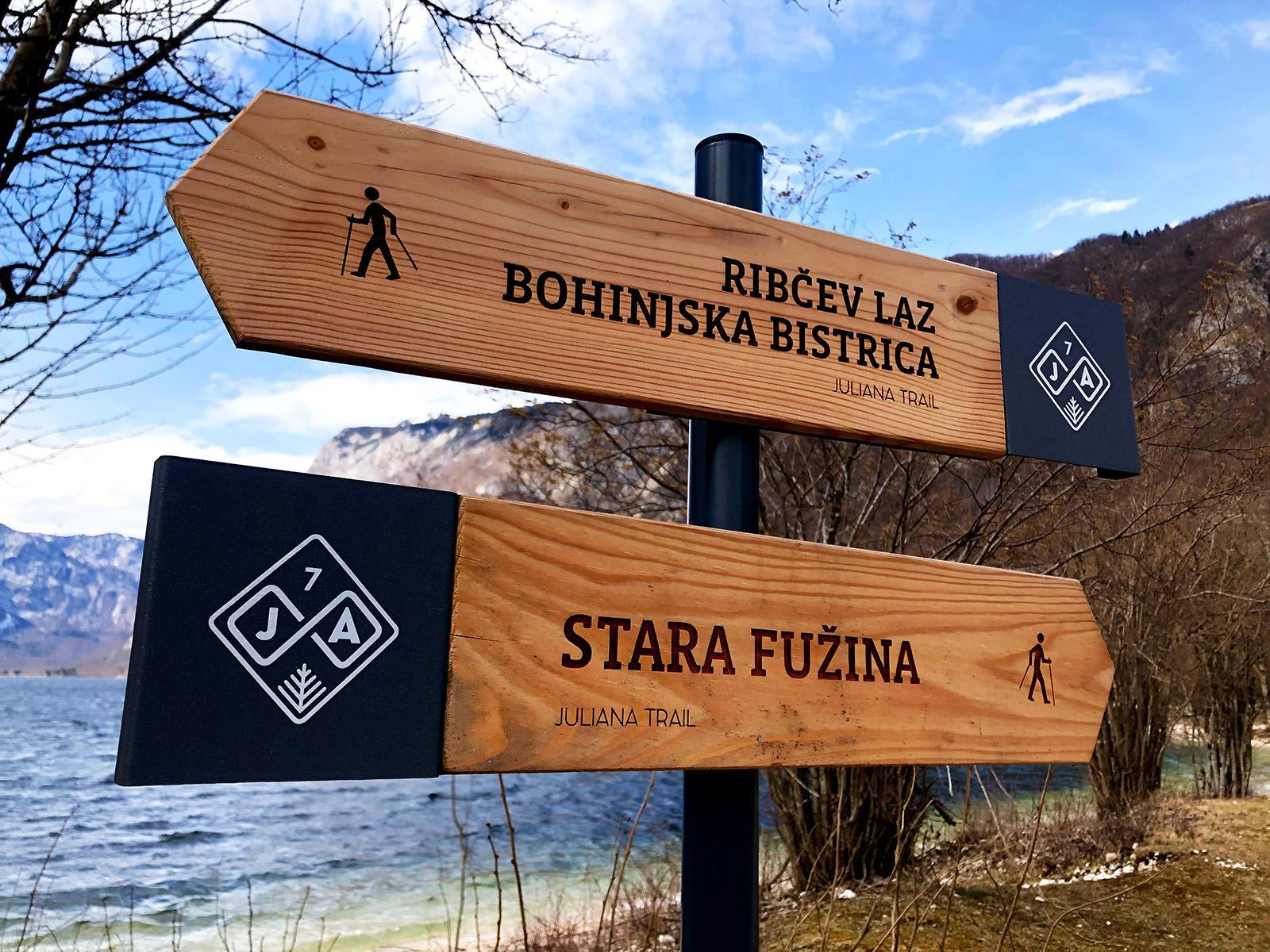 pohodniška pot julijana trail slovenija
